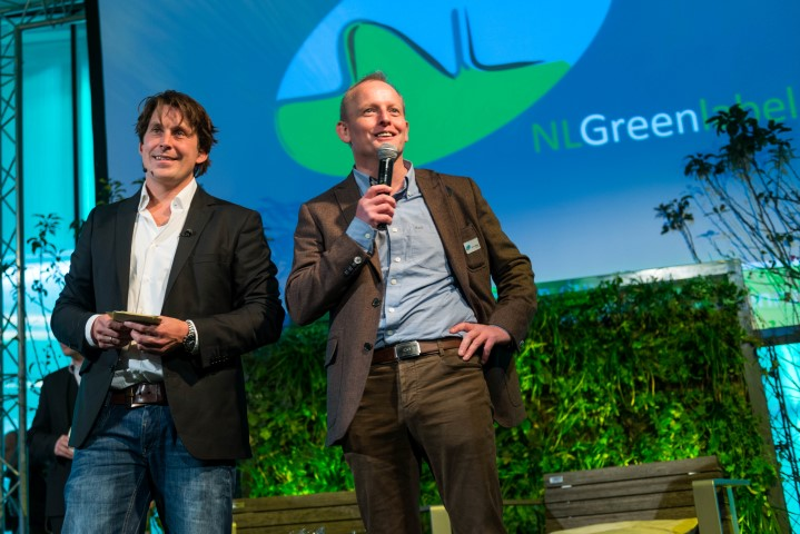 Lodewijk en Nico van NL Greenlabel