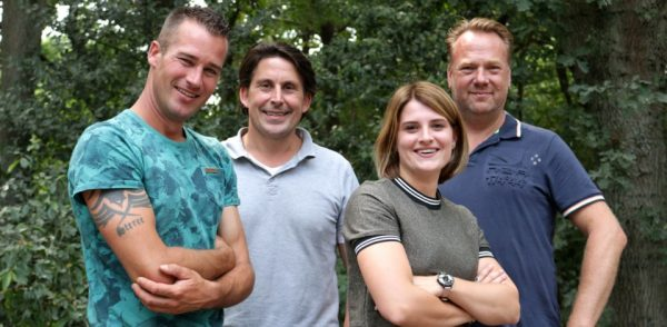 Het team van De Grote Tuinverbouwing (SBS6)